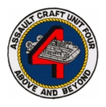 Assault Craft Unit 4 Patch