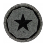 9th Support Command Patch Foliage Green (Velcro Backed)