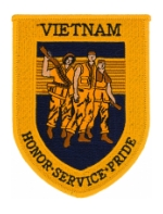 Vietnam Honor, Service, Pride Patch