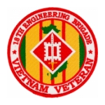 18th Engineering Brigade Vietnam Veteran Patch