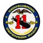 Commander Submarine Squadron COMSUBRON 11 Patch