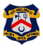 USS Hoel DDG-13 Ship Patch