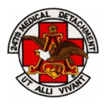 247th Medical Detachment Patch