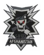 5th Battalion / 19th Special Forces Group Afghanistan Patch ACU Patch