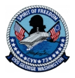 USS George Washington CVN-73 Ship Patch