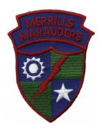 Merrills Marauders Patch