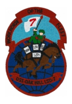 USS Oakhill LSD-7 Ship Patch