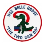 USS Belle Grove LSD-2 Ship Patch