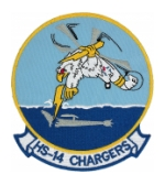 Navy Helicopter Anti-Submarine Squadron HS-14 Chargers Patch