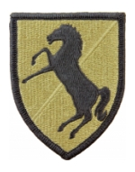 11th Armored Calvary Regiment Scorpion / OCP Patch With Hook Fastener