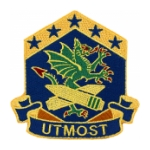 110th Chemical Battalion Patch