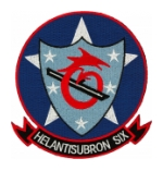 Navy Helicopter Anti-Submarine Squadron  Patch HS-6