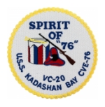 USS Kadashan Bay CVE-76 Patch