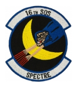 Air Force 16th Special Operations Squadron Spectre Patch