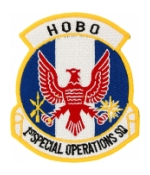 Air Force 1st Special Operations Squadron Hobo Patch