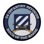 "3rd Infantry Division ""Rock Of The Marne"" Patch"