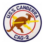 Navy Carrier Air Group USS Canberra CAG-2 Patch