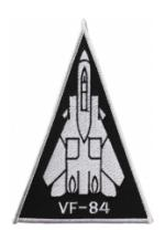 Navy Fighter Squadron VF-84 Triangle Patch
