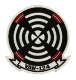 Navy Airborne Early Warning Squadron VAW-124 Patch