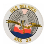 USS Deliver ARS-23 Ship Patch