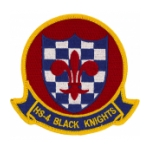 Navy Helicopter Anti-Submarine Squadron HS-4 Black Knights Patch
