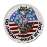 Tomcat Make My Day Patch