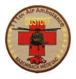 111th Air Ambulance Dustoff Razorback Medevac Patch
