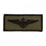 Navy Aviator Wing Patch (Subdued)