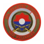 9th Infantry Division (Old Reliables) Patch