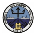 USS Bolster ARS-38 Ship Patch