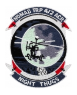 Nomad 4/2 Air Cavalry Regiment Night Thugs Patch