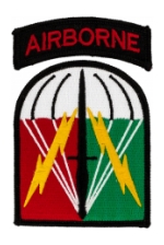 Army 528th Sustainment Brigade Airborne Patch