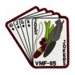 Marine Fighter Squadron VMF-115 Joe's Jokers Patch