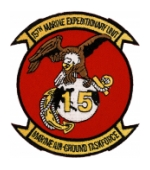 15th Marine Expeditionary Unit Patch