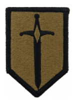 1st Combat Support Brigade Scorpion / OCP Patch With Hook Fastener