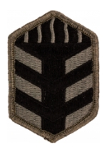 5th Training Brigade Patch Foliage Green (Velcro Backed)
