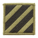 3rd Infantry Division Scorpion / OCP Patch With Hook Fastener