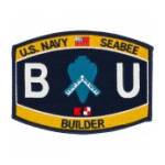 USN RATE Seabee BU Builder Patch
