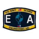 USN RATE Seabee EA Engineering Aid Patch