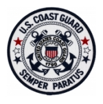 U.S. Coast Guard Semper Paratus Patch