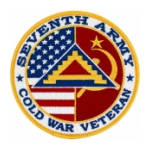 Seventh Army Cold War Veteran Patch