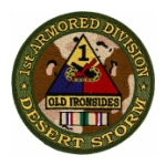 1st Armored Division Desert Storm Patch