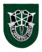 10th Special Forces Patch w/ Crest