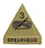 3rd Armored Division Scorpion / MultiCam OCP Patch With Hook Fastener