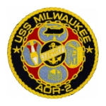 USS Milwaukee AOR-2 Ship Patch