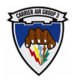 Carrier Air Group CVG-3 Ship Patch