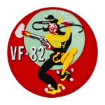 Navy Fighter Squadron VF-82 Patch