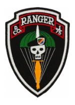 D Company 1/75 Ranger Patch