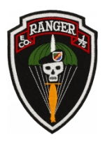 E Company 1/75 Ranger Patch