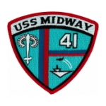 USS Midway CV-41 Ship Patch
